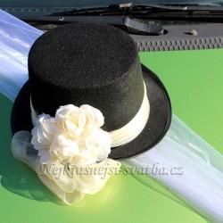 5985251ed3b Autodekorace ozdoby na svatební auta   Dekorace na auta cylindr -