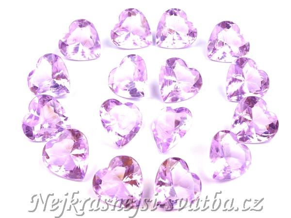 Krystalky Valounky Tmave Fialove