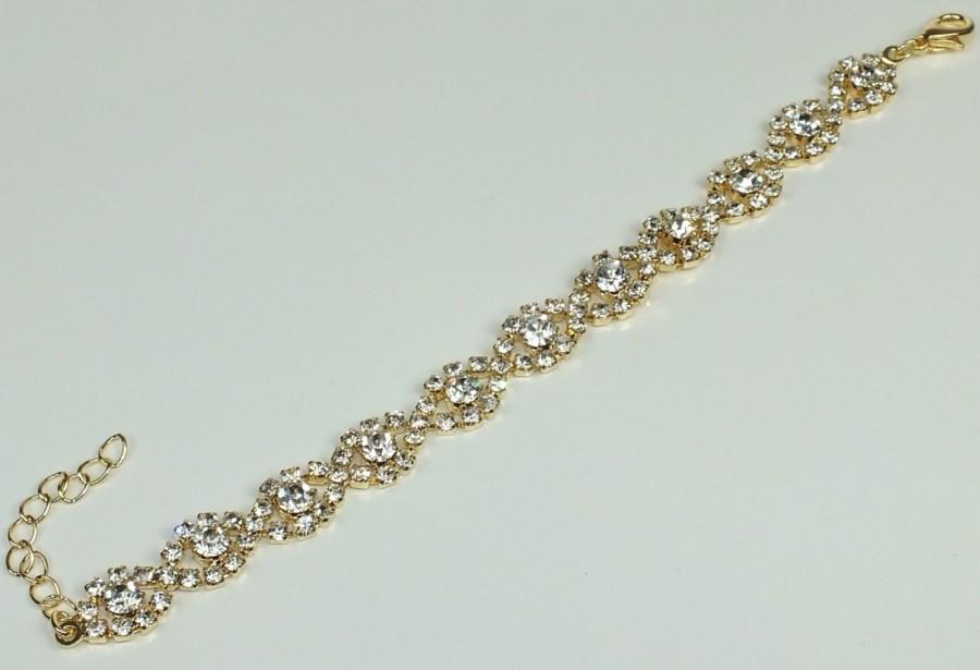 4ed3d86912e Svatební náramek Antoinetta - zlatá