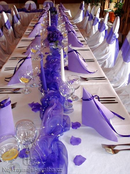 Svatebni Vyzdoba Organza 40 Hostu Vyzdoba Svatebni Tabule Pro 40